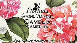 Парфюмерия и Козметика Натурален сапун с камелия - Florinda Sapone Vegetale Camellia