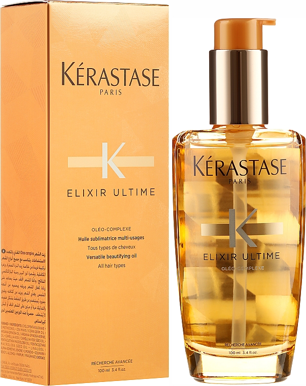 Масло за коса - Kerastase Elixir Ultime Versatile Beautifying Oil — снимка N1