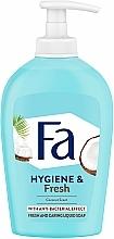 Парфюмерия и Козметика Течен сапун с кокосова вода - Fa Coconut Water Soap
