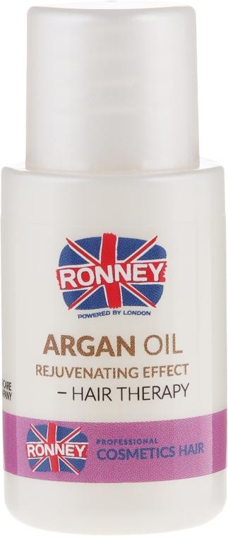 Масло за изтощена коса - Ronney Argan Oil Rejuvenating Hair Therapy — снимка N2