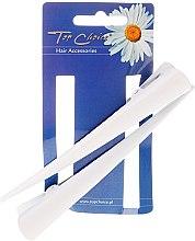 Парфюми, Парфюмерия, козметика Фиби за коса, размер L, 2 бр. в бяло - Top Choice
