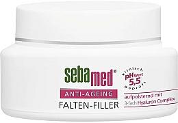 Парфюмерия и Козметика Крем-филър за лице против бръчки - Sebamed Anti-Ageing Falten-Filler
