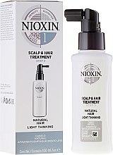 Парфюми, Парфюмерия, козметика Подхранващ спрей за скалп - Nioxin Thinning Hair System 1 Scalp Treatment