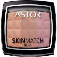 Парфюмерия и Козметика Руж - Astor Skin Match Trio Blush