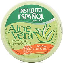 Парфюмерия и Козметика Крем за тяло с екстракт от алое вера - Instituto Espanol Aloe Vera Body Cream