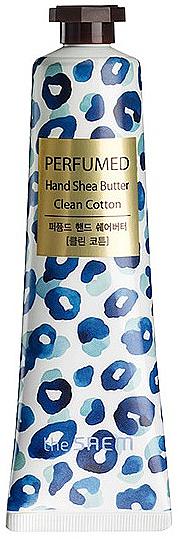 "Подхранващ крем за ръце ""Памук"" - The Saem Perfumed Clean Cotton Hand Shea Butter"