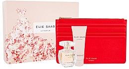 Парфюми, Парфюмерия, козметика Elie Saab Le Parfum - Комплект (edp/50ml + b/lot/75ml + bag)