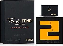 Парфюми, Парфюмерия, козметика Fendi Fan di Fendi Pour Homme Assoluto - Тоалетна вода