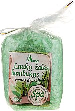Парфюми, Парфюмерия, козметика Соли за вана с аромат на полски билки и бамбук - Aqua Amber Spa