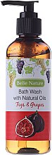 Парфюми, Парфюмерия, козметика Душ гел със смокиня и грозде - Belle Nature Bath Wash Figs&Grapes