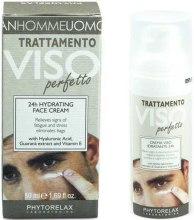 Парфюми, Парфюмерия, козметика Крем за лице - Phytorelax Laboratories Perfect Man 24H Hydrating Face Cream
