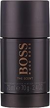 Hugo Boss The Scent - Комплект (тоал. вода/100ml + душ гел/50ml + део стик/75ml) — снимка N5