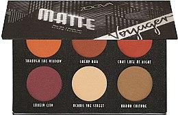 Парфюмерия и Козметика Палитра сенки за очи - Zoeva Voyager Matte Eyeshadow Palette