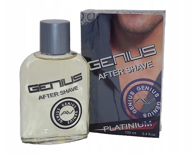 Афтършейв - Genius Platinium After Shave