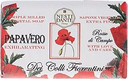 Парфюмерия и Козметика Сапун с екстракт от мак - Nesti Dante Dei Colli Fiorentini Soap