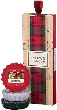 Комплект ароматен восък - Yankee Candle Alpine Christmas (wax/3x22g) — снимка N1