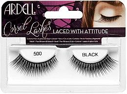 Парфюми, Парфюмерия, козметика Изкуствени мигли - Ardell Lashes Corset Collection Black 500