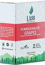 """Парфюми, Парфюмерия, козметика Ръчно изработен сапун """"Нар и грозде"""" - Lass Naturals Pomegranate & Grapes Soap"""