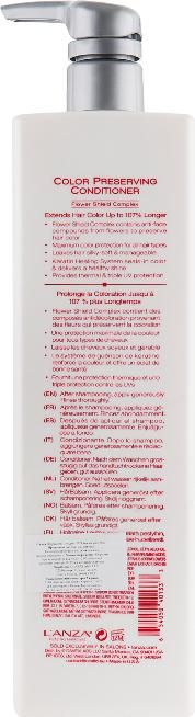 Балсам за защита на цвета на боядисана коса - L'Anza Healing ColorCare Color-Preserving Conditioner — снимка N4