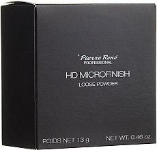 Парфюмерия и Козметика Насипна пудра с HD-ефект - Pierre Rene Professional HD Microfinish Loose Powder