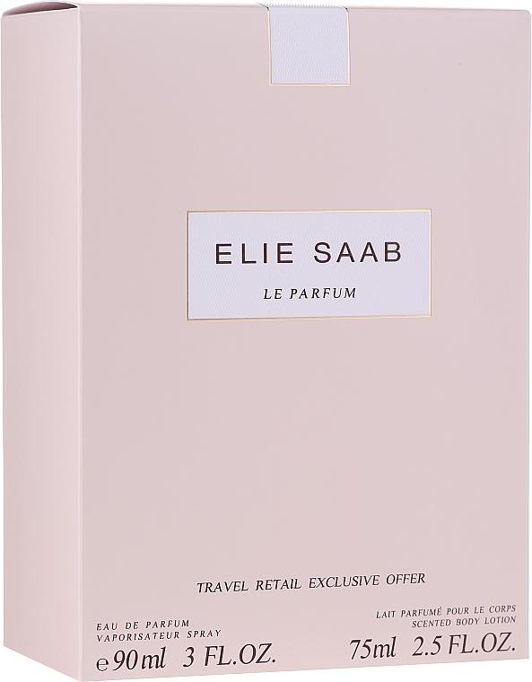 Elie Saab Le Parfum - Комплект (парф. вода/90ml + лос. за тяло/75ml)