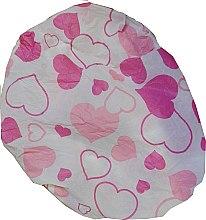 Парфюмерия и Козметика Шапка за баня, 9298, розови сърчица - Donegal