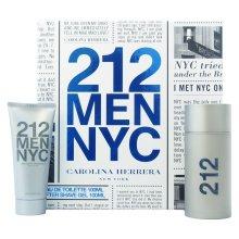 Парфюми, Парфюмерия, козметика Carolina Herrera 212 For Man - Комплект (edt/100ml+a/sh/100ml)