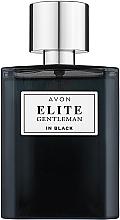 Парфюмерия и Козметика Avon Elite Gentleman in Black - Тоалетна вода