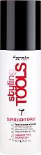 Парфюмерия и Козметика Спрей-блясък за коса с уплътняващ ефект - Fanola Tools Super Light Spray