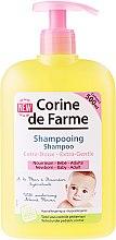 Парфюмерия и Козметика Деликатен шампоан с екстракт от бадемов цвят - Corine de Farme Baby