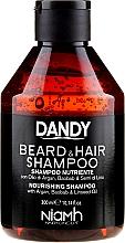 Парфюмерия и Козметика Шампоан за коса и брада с арган - Niamh Hairconcept Dandy Beard & Hair Shampoo