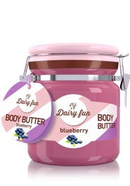 Масло за тяло с боровинка - Delia Dairy Fun Body Butte — снимка N1