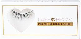 Парфюми, Парфюмерия, козметика Изкуствени мигли - Lash Brow Premium Silk Lashes Natural Glam