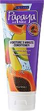 Парфюмерия и Козметика Овлажняващ Балсам за Коса - Freeman Papaya and Mango Moisture 3 Minute Conditioner