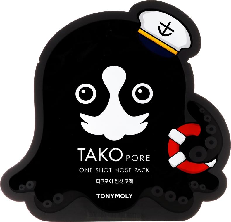 Лепенка за премахване на черни точки - Tony Moly Tako Pore One Shot Nose