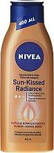 Парфюми, Парфюмерия, козметика Лосион-автобронзант за тяло - Nivea Body Bronze Effect Light