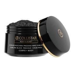 Парфюми, Парфюмерия, козметика Скраб-маска за тяло - Collistar Sublime Black Precious Scrub-Mask Body