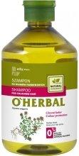 Парфюмерия и Козметика Шампоан за боядисана коса с екстракт от мащерка - O'Herbal