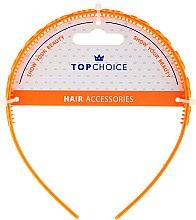 Парфюмерия и Козметика Диадема за коса, 27918, оранжева - Top Choice