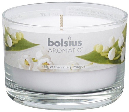 """Ароматна свещ в бурканче """"Момина сълза"""" - Bolsius Candle — снимка N1"""