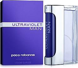 Парфюмерия и Козметика Paco Rabanne Ultraviolet Man - Тоалетна вода