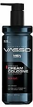 Парфюмерия и Козметика Крем-одеколон след бръснене - Vasso Professional Men After Shave Cream Cologne Kick Start