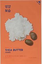 Парфюмерия и Козметика Подхранваща маска с масло от Шеа - Holika Holika Pure Essence Mask Sheet Shea Butter
