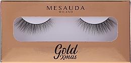 Парфюмерия и Козметика Изкуствени мигли - Mesauda Milano Gold Xmas Instant Glam False Eyelashes 204
