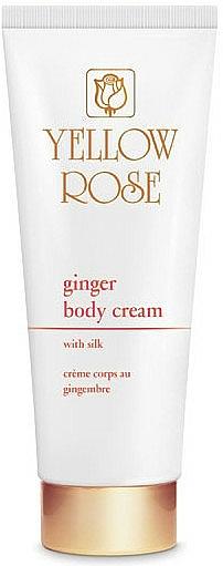 Крем-мляко за тяло - Yellow Rose Ginger Body Cream — снимка N2