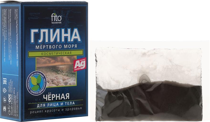Черна глина от Мъртво море за лице и тяло - Fito Козметик