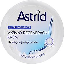 Парфюмерия и Козметика Подхранващ регенериращ крем - Astrid Nutri Moments Nourishing Regenerating Cream