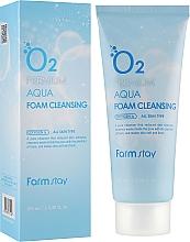 Парфюмерия и Козметика Кислородна пяна за лице - FarmStay O2 Premium Aqua Foam Cleansing