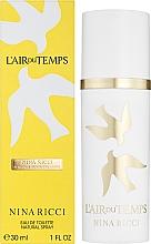 Nina Ricci LAir du Temps Travel Edition - Тоалетна вода — снимка N2