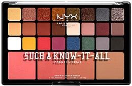 Парфюмерия и Козметика Палитра за грим - NYX Professional Makeup Such A Know-It-All
